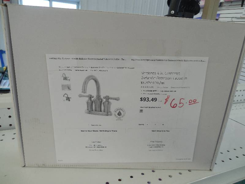 Xiamen Lota 67113-8004 Verdanza 4 In. 2-handle Bathroom Faucet In ...