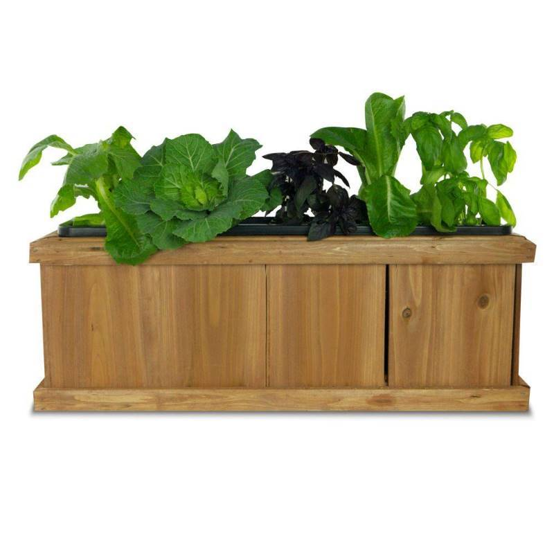 Pennington 40 In X 12 In Wood Planter Box