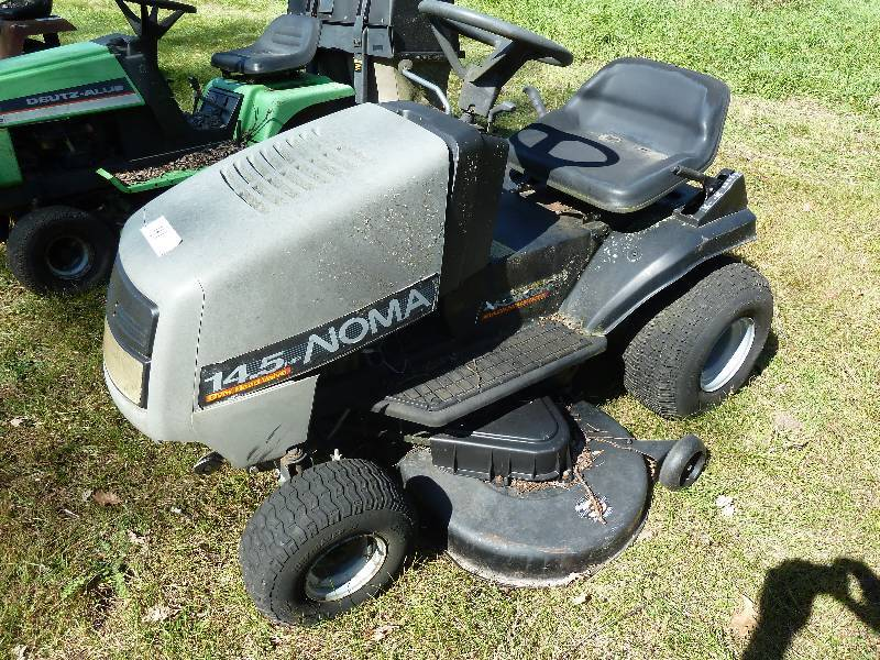 Noma Riding Lawn Mower