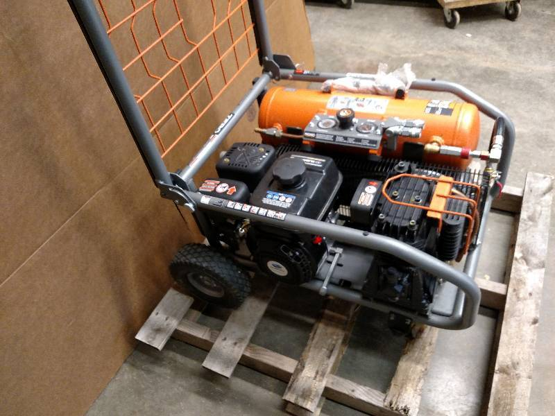 Ridgid Gas Hand Truck Air Compressor Mike S Machinery