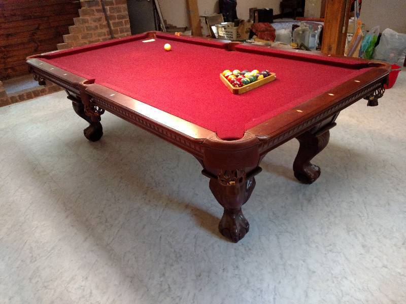 Cannon Slate Pool Table Thick Mikes Antiques - How to move a slate pool table