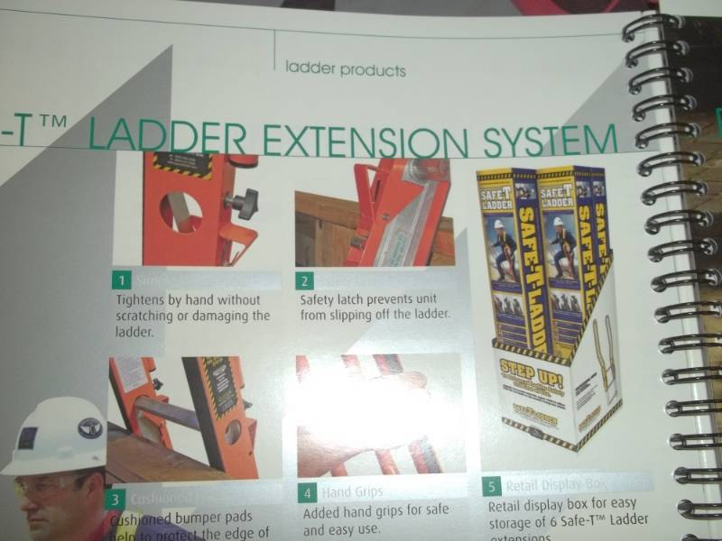 Qual Craft Guardian Safe T Ladder Extension System Model
