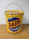 Vintage DAD'S Root Beer 5 Gallon Syrup Can w/Lid!