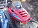 1993 Polaris 440 Snowmobile, with backrest, Very Clean Sled,