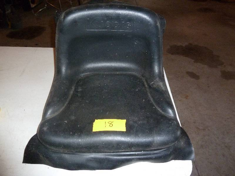 Backhoe Seat Replacement : New kubota lawn mower or tractor replacement seat john