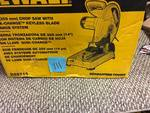 DeWalt 14 in. Chop Saw in box MSRP $199 good working condition