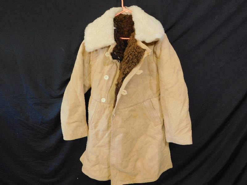 Russian Military Surplus Sherpa Trench Coat 97ab6b7a025c