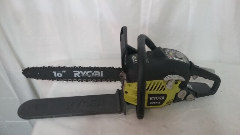 Ryobi chainsaw twin cities auction furniture and home goods k bid greentooth Images