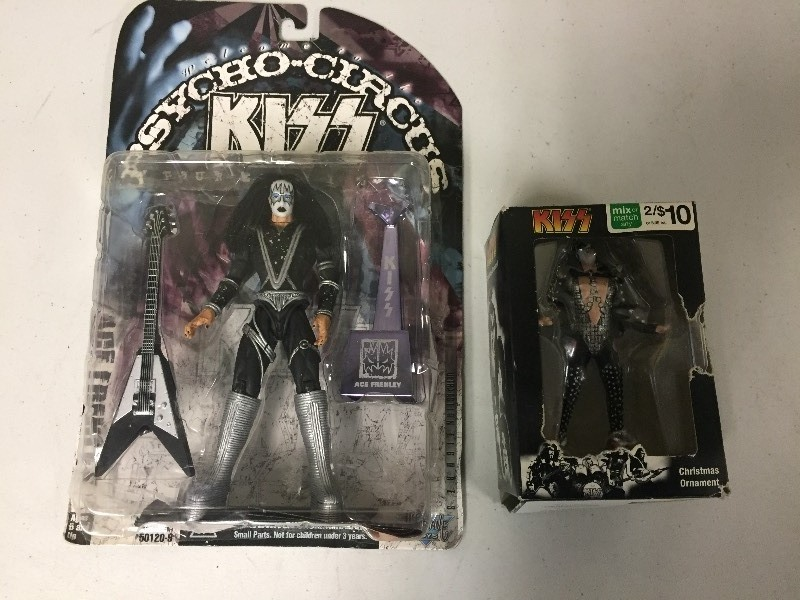 KISS Figurine Ace Frehley & Ornament | Vintage & Collectibles:  Presidential, Swarovski, Sports, Fishing, Jewelry, More! | K-BID - KISS Figurine Ace Frehley & Ornament Vintage & Collectibles