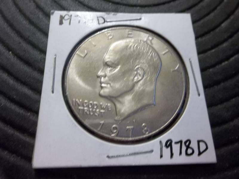1978 D Ike Dollar | Silver Type Coins 27 & Currency | K-BID