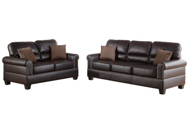 Leather sofa moorhead liquidation october consignment for Liquidation de sofa
