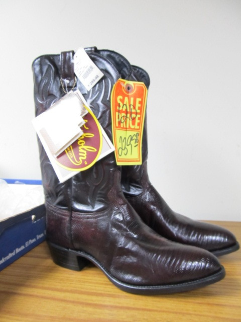 6939a465c73 BRAND NEW High End J. CHISHOLM Men's Western Cowboy Boots - Size 12D ...