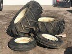 (4) Tractor Wheels & Tires