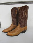High End AMMONS Handmade Alligator Men's Cowboy Boots - Size 11D