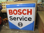 NEW IN BOX Large BOSCH SERVICE Lighted Sign