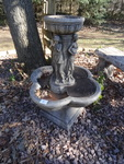 Outdoor indoor fountain. Resin body...