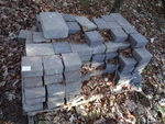 Concrete pavers. 2 sizes. Approx 10...