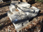 Concrete retaining wall block. 12 x...