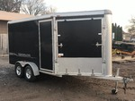 2002 Rance Renegade Aluminum Enclosed Snowmobile Trailer