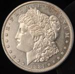 1884-S MORGAN SILVER DOLLAR HIGH GRADE KEY DATE COIN