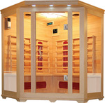 New 3-4 Person Corner Infrared Sauna