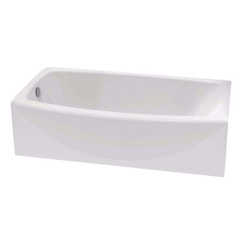 American Standard 2647.212.011 Ovation Curved 60 Bath Tub