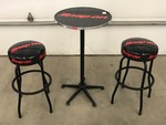 Snap-On High-Top Bar Table With (2)...