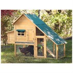 Castlecreek Farmhouse Chicken Coop,...