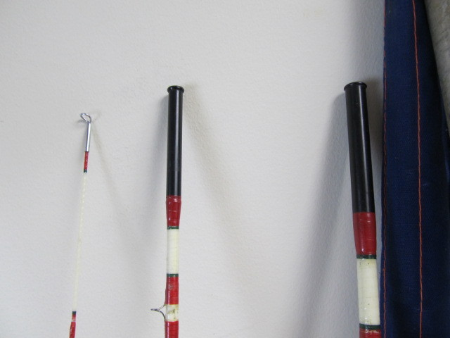 Nice lot of vintage fly fishing rods little canada for Nice fishing rods