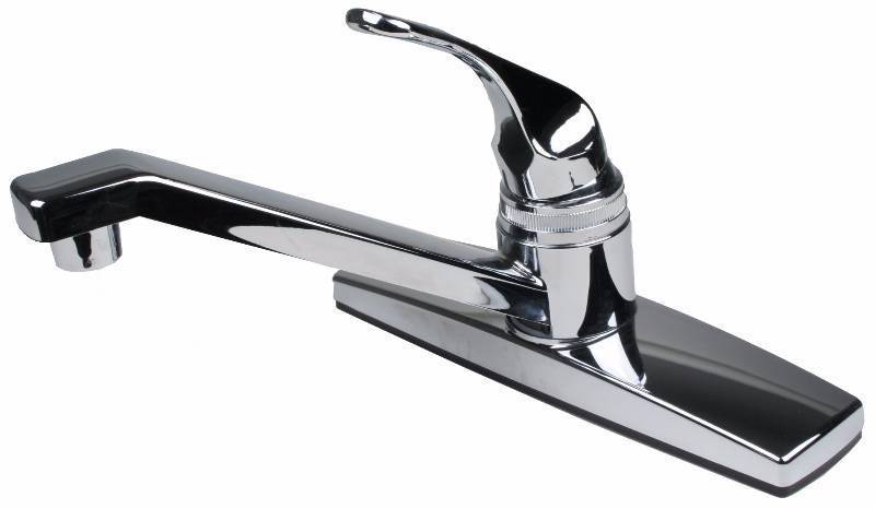 Ultra Faucets 1 Handle Kitchen Faucet Chrome Coats