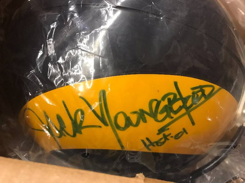SIGNED RIDDELL ON-FIELD HELMET
