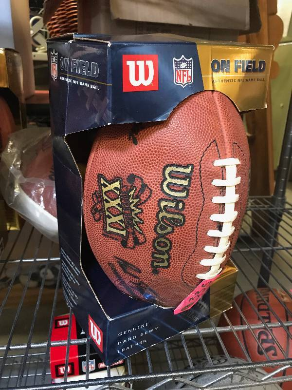 OFFICIAL NFL WILSON FOOTBALL