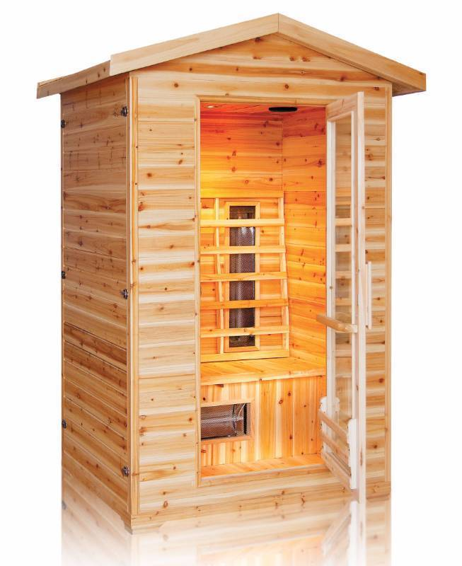 New - 2 Person Outdoor Infrared Sauna