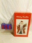 SnS Auctions # 298 Christmas animated figures & displays.