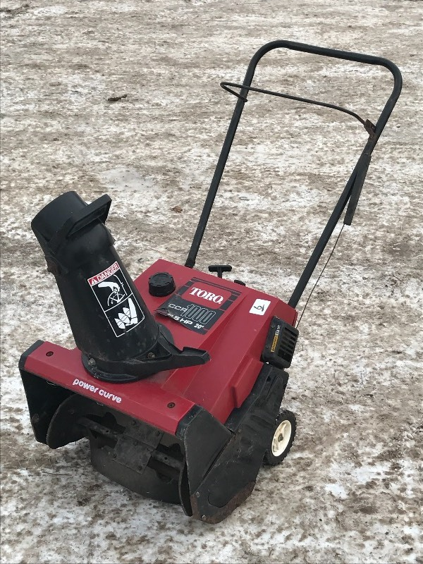 Toro ccr 1000 snow blower le snow equipment k bid sciox Image collections