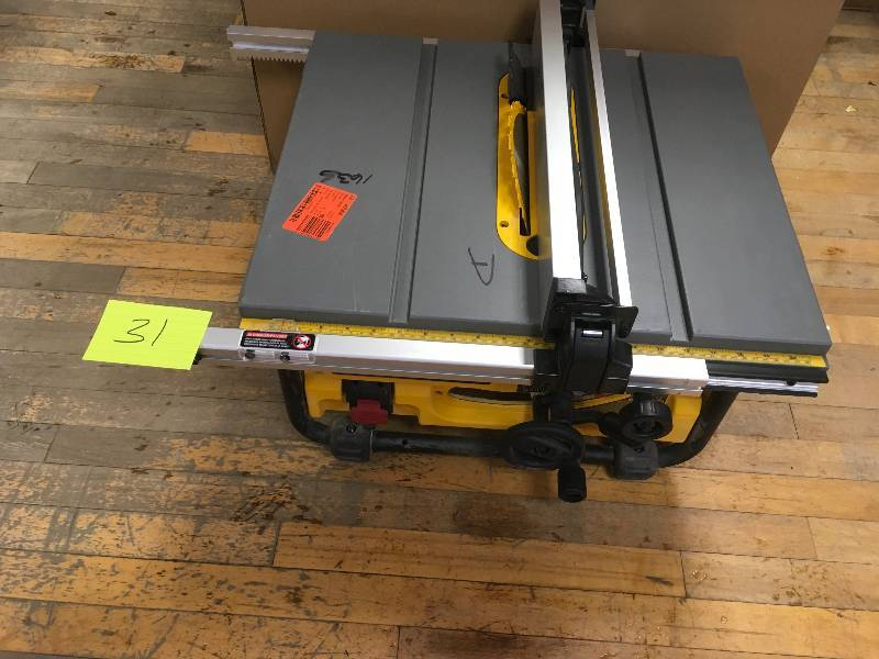 Dewalt 10 Inch Table Saw In Working Conditions Kx Real