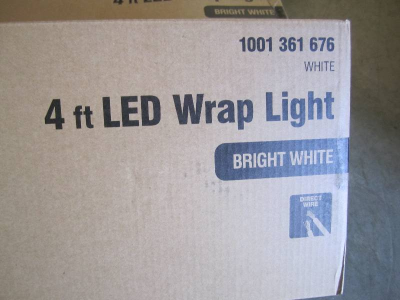 Lot of 3 - 4 foot LED Wrap Lights B... | Lights Cleaners Snacks Household Useful Goods! | K-BID & Lot of 3 - 4 foot LED Wrap Lights B... | Lights Cleaners Snacks ... azcodes.com