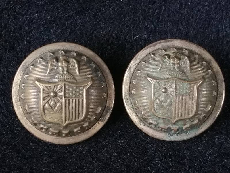 Civil War Era Brass Buttons