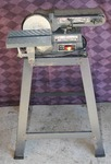 Belt and Disc Sander on Metal Stand