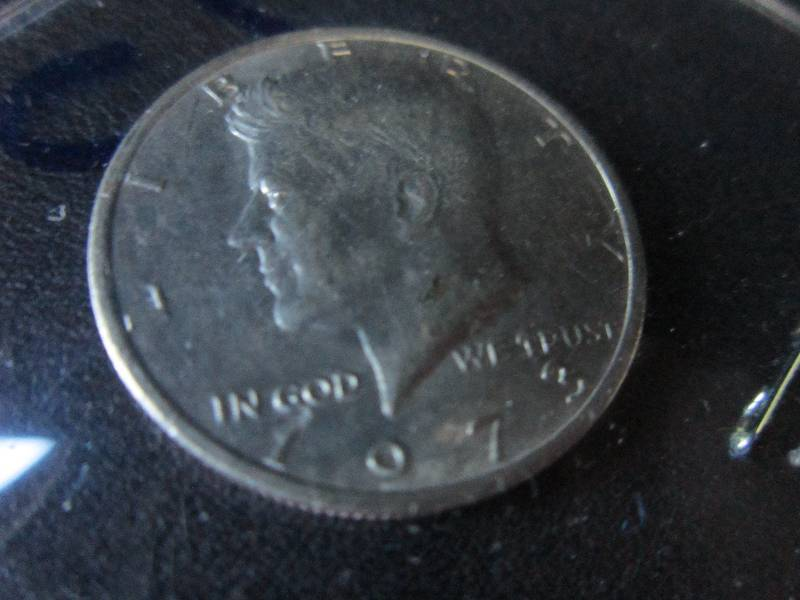 1973 Uncirculated Kennedy Half Doll    | Coin Collector Extravaganza