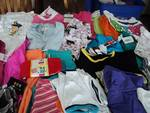 25 pieces of new girls clothing siz...