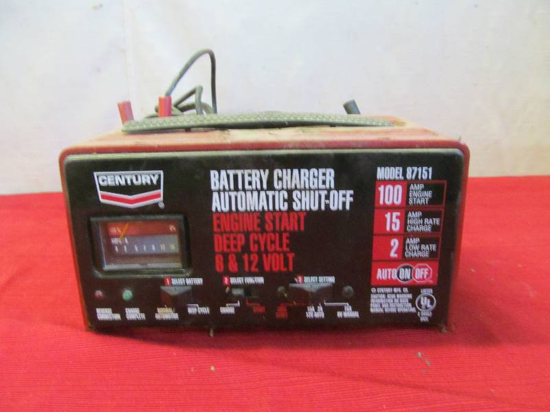 Century Battery Charger 87423 – Wonderful Image Gallery on