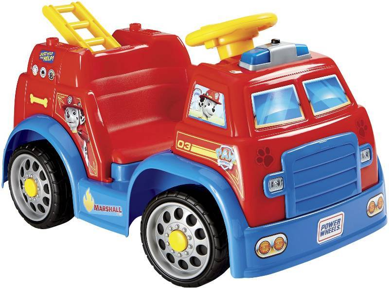 Power Wheels Paw Patrol Fire Truck Ride-On | Toys, Games