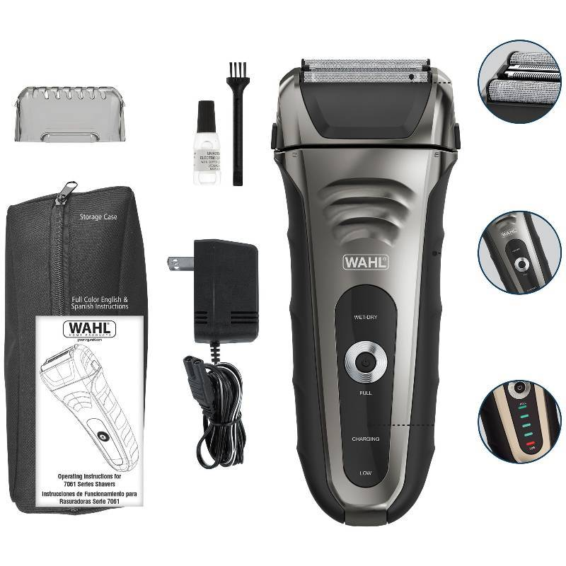 Wahl Smart Shave Rechargeable Lithium Ion Shaver Perfumes