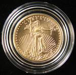 2016 $5 AMERICAN GOLD EAGLE 1/10TH TROY OZ. IN AIRTITE HOLDER