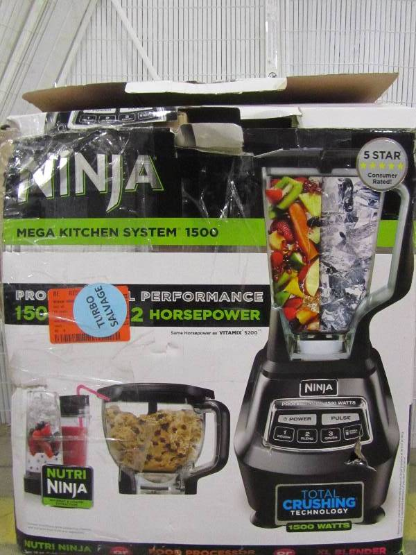 Ninja Mega Kitchen System Blender | MN Home Outlet Auctions ...