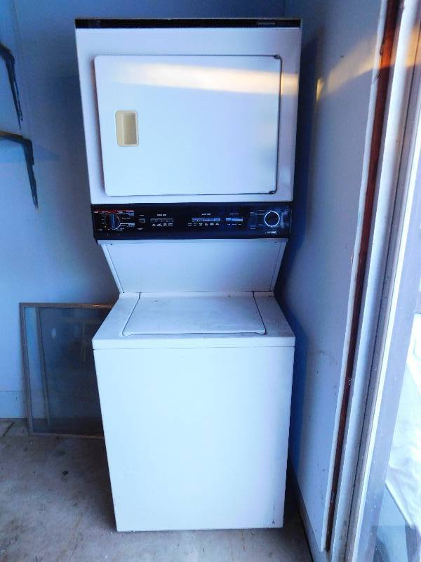 Sears kenmore washer and dryer estate sale part 1 k bid Sears washer and dryer