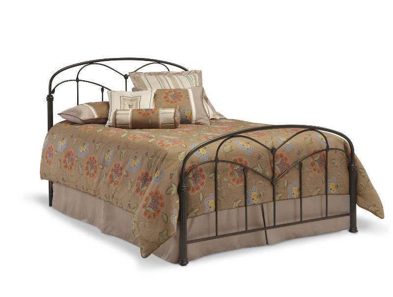 Pomona hazelnut bed headboard footboard does not include matress or frame queen bedding Home choice furniture burnsville mn