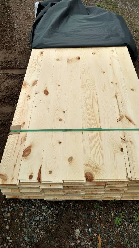1x6x8 Ponderosa Pine Tongue and Groove Outs | North Star