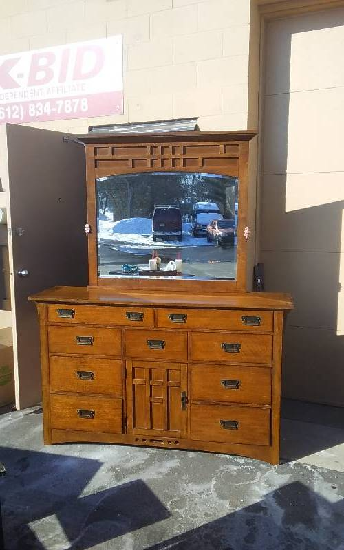 Broyhill Mission Style Bedroom Set Maple Grove Moving